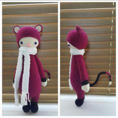 Miya(Cat)_modified crochet pattern based on FIBI pattern by Lalylala