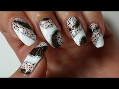 Marble Nails | Nail Art Tutorial No Water Needed - YouTube