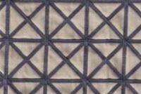 Drapes 100% COTTON  Fabricut Trend 02095 LAPIS