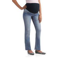 98c402a534032 Planet Motherhood - Maternity Full-Panel Super Soft Bootcut Jeans -  Walmart.com