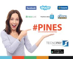 pines de entretenimiento  https://www.tecnopay.com.mx/  Vende Recargas  01 800 112 7412  (55) 5025 7355
