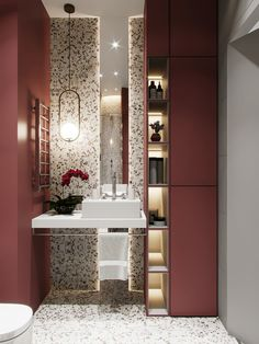 56 Trendy Ideas For Elegant Bathroom Lighting Wall Papers Washroom Design, Toilet Design, Bathroom Interior Design, Interior Decorating, Bad Inspiration, Bathroom Inspiration, Modern Bathroom Lighting, Modern Lighting, Industrial Lighting
