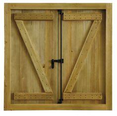 Ventana Rustica Mod3   Puertas Calvo Window Shutters Exterior, Wood Shutters, Wood Windows, Woodworking Techniques, Rustic Style, Tall Cabinet Storage, Furniture, Home Decor, Xnxx