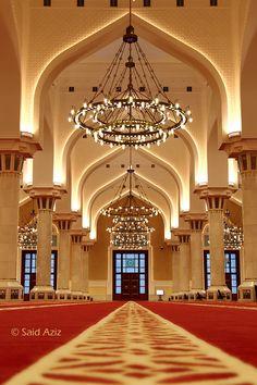 Grand Mosque - Doha, Qatar by Said Aziz on Grand Mosque, Doha, Photography Portfolio, Museum, House Styles, Home Decor, Homes, Decoration Home, Room Decor
