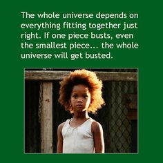 """Movie Quote from """"Beasts of the Southern Wild""""  from Reid Rosefelt Marketing on Facebook #independent film #Louisiana #cinema"""
