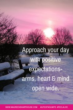 Positive expectations..... <3