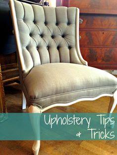 blue roof cabin: Upholstery Tips & Tricks