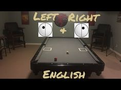 Pool Drills to Help Improve Your Game: Left and Right English Bar Games, Pool Games, Play Pool, Billiards Pool, Improve Yourself, Make It Yourself, Left And Right, Pool Table, Drills