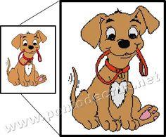 Cão com trela