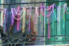 New+Orleans+Mardi+Gras+Beads | ... and millions of beads make their way into New Orleans every year Mardi Gras Beads, How To Make Beads, Louisiana, Mermaid, Fiesta Party, Louisiana Tattoo