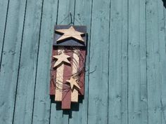 Primitive Crafts | american flag craft this is a primitive americana flag craft