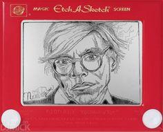 etch a sketch art -