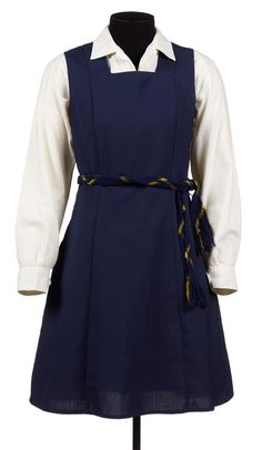 School Uniform Outfits, Cute School Uniforms, Uniform Dress, School Dresses, Catholic School Uniforms, Private School Uniforms, Boarding School Aesthetic, Witch School, University Outfit