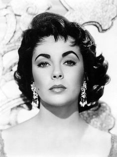 Elizabeth Taylor  in a portrait for Elephant Walk 1954 | by Andrew Garth
