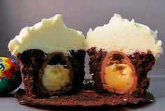 Cadburry egg cupcake!