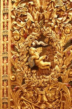 Golden Architectural Details