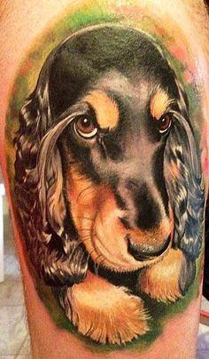 Realism Animal Tattoo by Matteo Pasqualin - http://worldtattoosgallery.com/realism-animal-tattoo-by-matteo-pasqualin-3/
