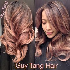 I Love This Rose Gold Hair color!