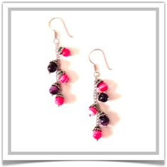 "One-of-a-Kind ""Faerie Bells"" Earrings - Designed by Belle Bijou:  http://www.bellebijoujewelry.com/store/detail/index.html#cid=79047"