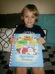 Mommy's Block Party: Santa's Zany, Wacky Not Quite Right Night Before Christmas Children's Book #Review