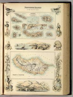 Portuguese Islands in the Atlantic Ocean 1872