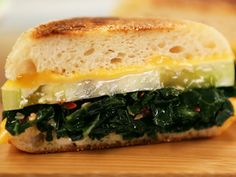Collard Greens Grilled Cheese. Get this recipe from Kimberly's Simply Southern on Great American Country >> http://www.greatamericancountry.com/living/food/collard-greens-grilled-cheese?soc=pinterest