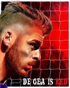 #De_gea #United #MUFC Manchester United Football, Simply Red, Man United, Soccer, David, The Unit, Club, Illustration, Goalkeeper