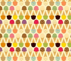 ice cream fabric.  my brain is SPINNING with everything I could make from this.