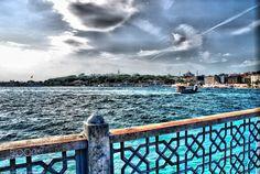 İstanbul SeaBlue - İstanbul, Galata Bridge, Sea, Historical Place  Turkey Photo: Suleyman Sonmez www.suleymansonmez.com