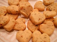 Herby Cheese Crackers (Gluten free)