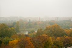 Misty autumn in the city by Fabi Nuka on 500px Bucharest, Autumn, River, City, Painting, Outdoor, Outdoors, Fall Season, Painting Art