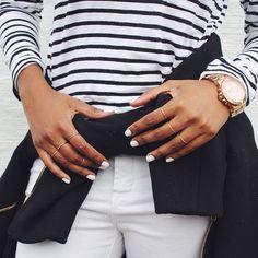 #stripes and #minimal #jewelry