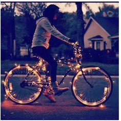 Vélo lumineux