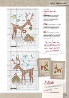 Gallery.ru / Фото #55 - Cross Stitcher 285-2014 - Lydie reindeer cheer chart 2