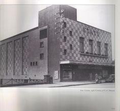 State cinema, North Circular Road, Phibsboro, Dublin 1956. Old Pictures, Old Photos, Lemmy Motorhead, Photo Engraving, Ireland Homes, Dublin City, Dublin Ireland, Thesis, 1920s