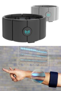 With a wave of your hand, 'MYO' will transform how you interact with your digital world. The MYO armband lets you use the electrical activity in your muscles to wirelessly control your computer, phone, and other favorite digital technologies.
