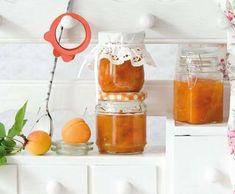 Meruňková marmeláda   Recepty Albert Wine, Bottle, Med, Syrup, Flask, Jars