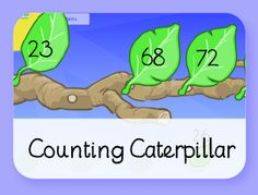 Decimal Demonstrator Literacy Games, Math Games, Maths, Counting Caterpillar, Number Spelling, Playing With Numbers, Place Value Games, Teaching Tools, Teaching Ideas