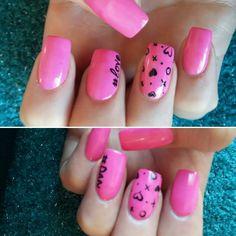 #barbie #pink #nails