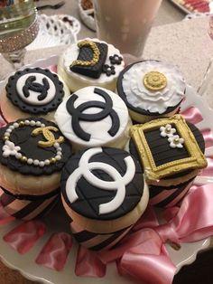 Chanel Cupcakes by Fancy Batter wwwfacebookcomfancybatter