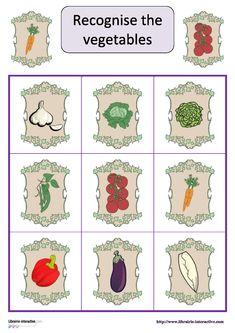 Un jeu de loto pour apprendre le nom des légumes en anglais. Jenny Lee, English Course, French Language Learning, Learn English, Comics, Kids, Cycle 2, Homeschooling, Study