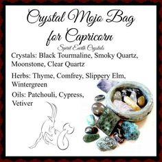 Mojo bag for Capricorn