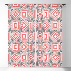 Abstract rectangles Blackout Curtain Blackout Windows, Blackout Curtains, Window Curtains, Curtain Rods, Throw Pillows, Abstract, Summary, Toss Pillows, Cushions