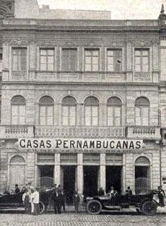 1915 - Casas Pernambucanas no Largo da Sé.