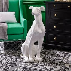Greyhound Statue by Two's Company - Seven Colonial Sculpture Art, Sculptures, Two's Company, Art Object, Colonial, Statue, Wall Art, Animals, Larger