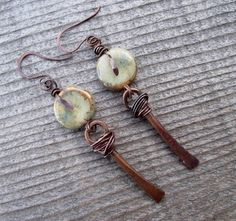 Love My Art Jewelry: Finding Your Style....Lovely earrings