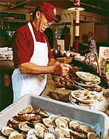 Ye Olde Union Oyster House is a Boston staple.  Drop in for fresh, authentic seafood at a historic locale once loved by Daniel Webster and the Kennedy clan.