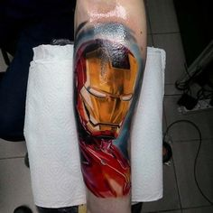Discover the fully robotic suit superhero with the top 70 best Iron Man tattoo designs for men. Tony Stark, First Iron Man Suit, Iron Man Superhero, Dc Tattoo, Best Iron, Flesh And Blood, Tattoo Designs Men, Tattoos For Guys, Marvel Dc