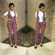 Rock the Latest Ankara Jumpsuit Styles these ankara jumpsuit styles and designs are the classiest in the fashion world today. try these Latest Ankara Jumpsuit Styles 2018 African Wear Dresses, Latest African Fashion Dresses, African Print Fashion, African Attire, Moda Afro, Ankara Tops, African Fashion Designers, African Design, African Women