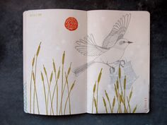 Sketchbook Project Page 2   by Geninne